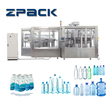 Automatic water filling machine, water bottling machine, mineral water plant manufactuers