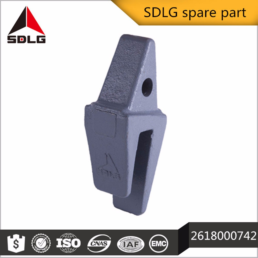 SDLG excavator spare part bucket tooth 26180000742
