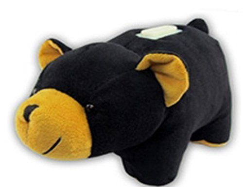 Huggie Banks Black Bear Bank-coin Bank - For Boys and Girls – Huggable – Soft -Plush - Stuffed Animal Toy - Teach Kids About Money – Learning and Development – Play and Learn - We Are Happy to Offer a Pig - Lion - Giraffe -Monkey - Elephant - Moose - Lady Bug - Just Search Amazon for Huggy Bank