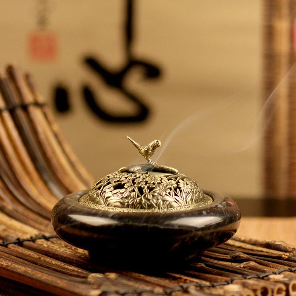 Buy Xiduobao Lotus Flower Incense Burner Alloy Metal Buddha Incense