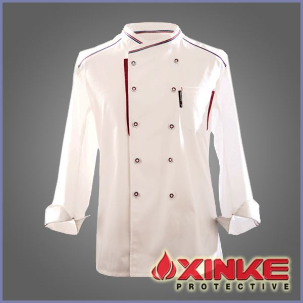Custom chef uniform with fashional Chinese style