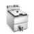 12L Large Capacity High Quality Stainless Steel Table Top Electric Fryer with Drain Tap