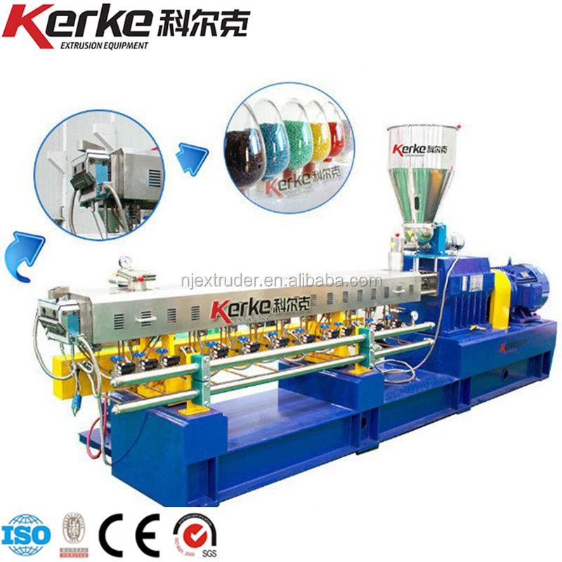 Plastic Materiaal Polycarbonaat Korrels Extruder Machine Productielijn