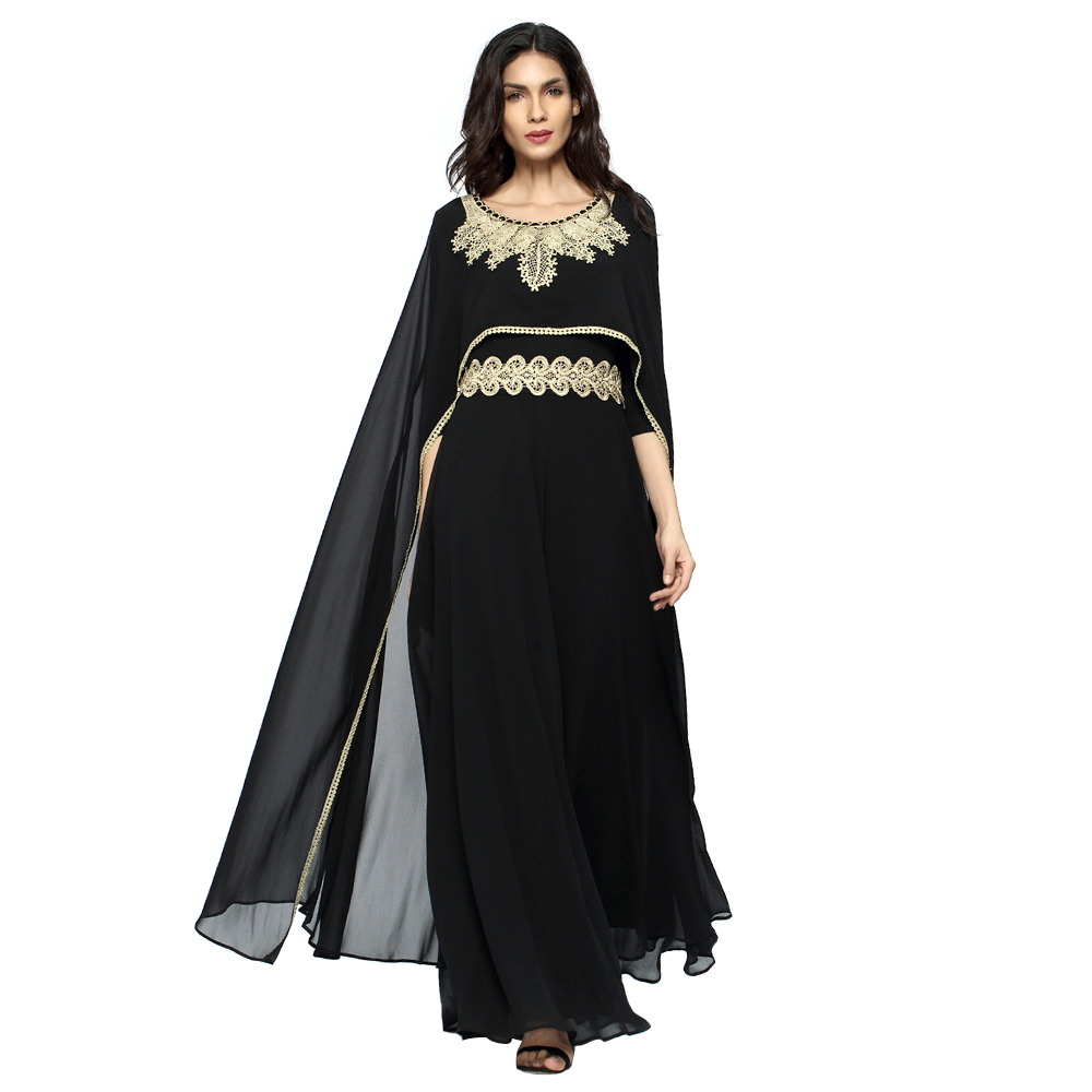 Zakiyyah 6649 islamic gift items muslim hijab wedding dress party dresses for women