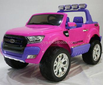 24 Volt Ride On Car Toy Ford Ranger Licensed Toys Kids Electric