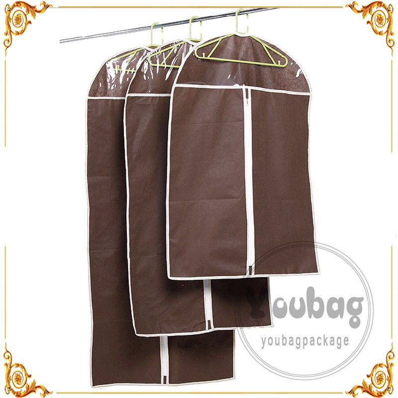Factory wholesale Non woven garment bags / suit covers / garment covers