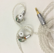 Latest wireless or MMCX 5 Balanced Armatured Hi-end Earphone K5 fit for BTcable
