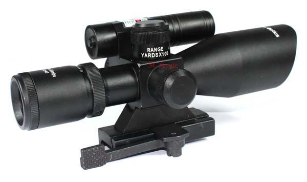 Zielfernrohr Mit Entfernungsmesser : Vektor optik für gewehre seitenhieb 2 5 10x40 grünen laser lange