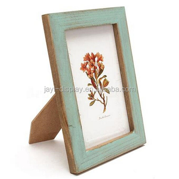 Free Pre-production Sample Multi Size Custom Desktop MDF Vintage Old Picture Photo Frame