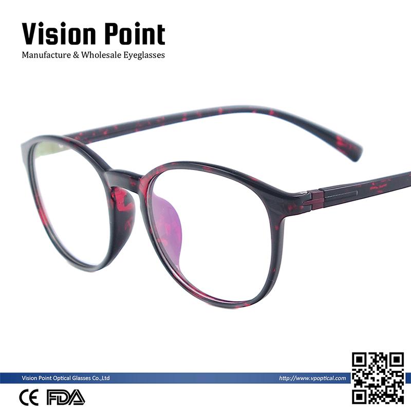 bcfbc338ae Wholesale Women Round Light  strong Flex  strong  TR90 Eye Glass Frames