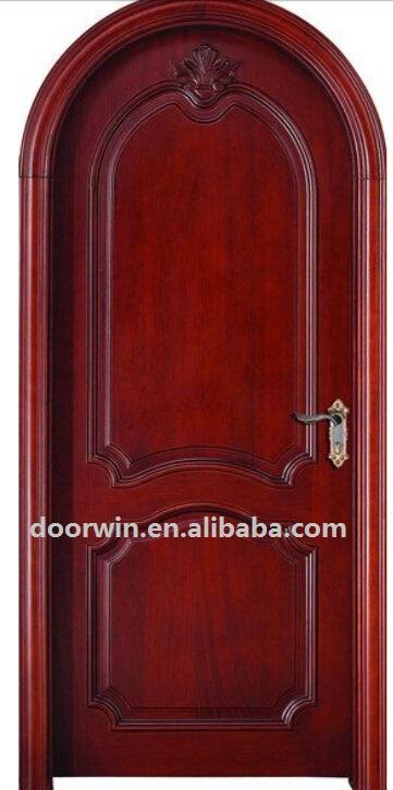 Talla de madera de caoba arco principal de madera maciza for Arcos de madera para puertas