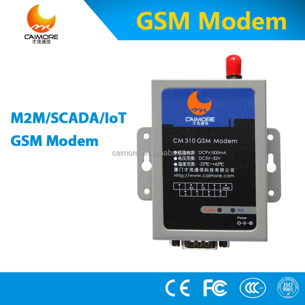 CM3100 rs232 gsm modem sim 900 with AT command TCP/IP GPRS modem support bulk sms