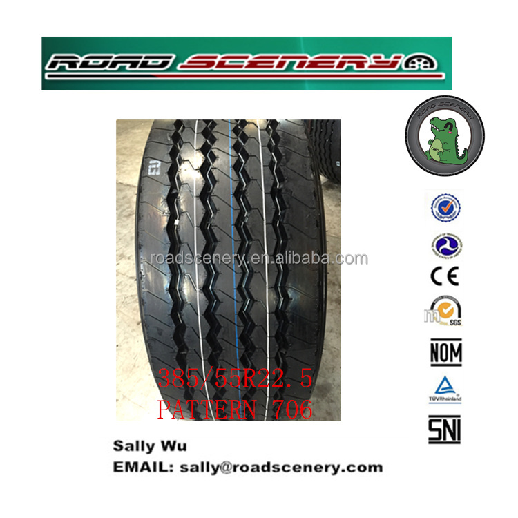 China Truck and bus tire, Annaite /Amberstone 385/55R22.5 20PR with ECE GCC ISO16949 EU LABEL