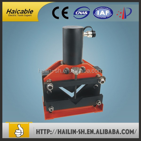 Manufacturing electric hydraulic pumps control style hydraulic busbar busbar trunking machine Capacity 110*110*10mm CAC-100