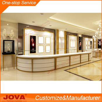 Elegant Jewelry Shop Display Counter Design Images Buy