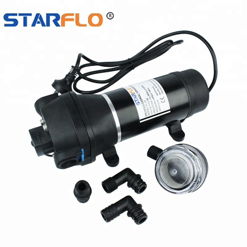 Starflo Fl 41 40psi 120v Ac Small Miniature Diaphragm Motorcycle Electric Water Pump For Rv Yacht Buy Motorcycle Water Pump Motorcycle Electric Water Pump Miniature Diaphragm Pump Product On Alibaba Com