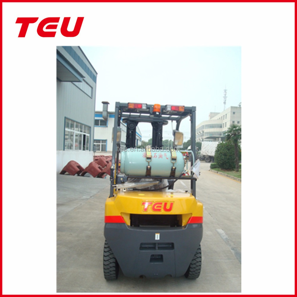 dual fuel 2t petrol and LPG forklift