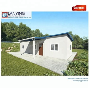Customized prefab home house building kits low cost prefab homes for Africa