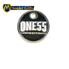 custom 2D soft enamel trolley coin keyring charms no chain