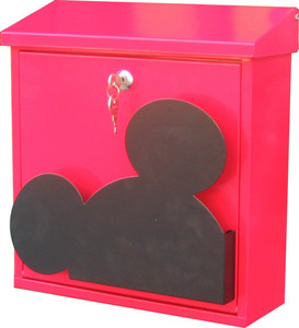 Wall mount mickey mouse design mailbox/Unique pattern design mailbox
