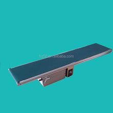 Small aluminum standard belt conveyor