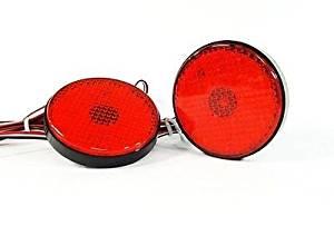 LEDIN Toyota Sequoia ZRR70 Red Lens SMD LED Rear Bumper Reflector Tail Brake Light DRL