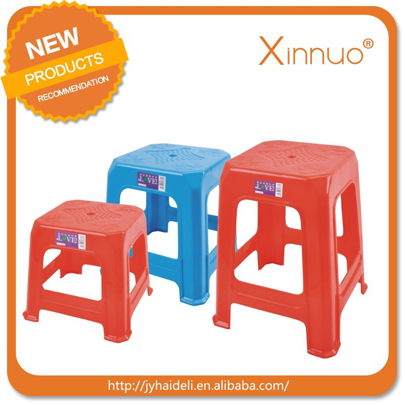 The cheap plastic folding stool plastic stool chair for sale
