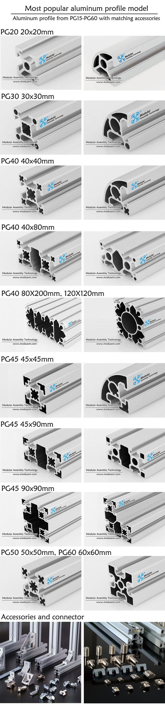 Sleuven perfiles de aluminio en china