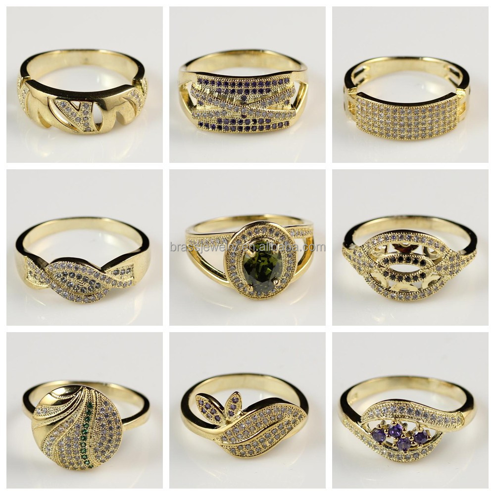 Gold Finger Ring Rings Design For Women With Price - Buy Gold ...