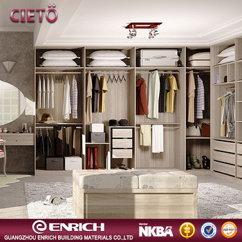Cheap Simple Modern Bedroom Wall Wardrobe Closet Wooden Almirah Design