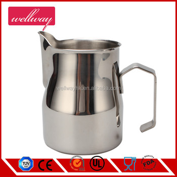 Stainless Steel Milk Pitcher Coffee Jug With Spout