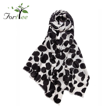New fashion promotional woman scarves and shawls pashmina wool warm scarf