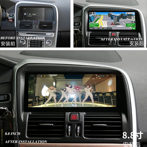 car multimedia player for volvo XC60 2009-2017 with navigation free map  support obd2