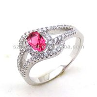 Simple & New Design Rings Silver Jewelry from Shenzhen Jewelry Factory