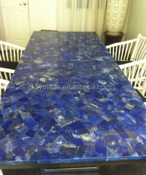 Blue Marble Dining Lapis Stone Table Top, Blue Marble Dining Lapis Stone  Table Top Suppliers And Manufacturers At Alibaba.com