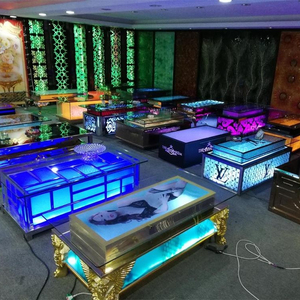 Cool bar furniture/ nightclub/ KTV/ night club/led cube table wholesale hookah lounge furniture
