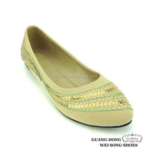 green string green string cheap middle-ages ladies slip on women shoes