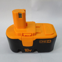 18v cordless drill battery 1300mah 1500mah 2000mah 3000mah 18v ni-mh battery pack for ryobi 18v battery power tool