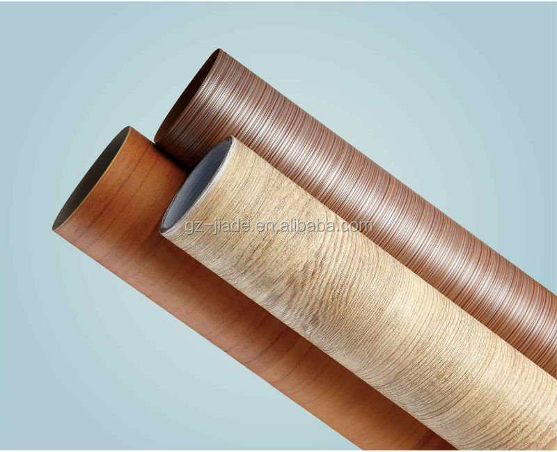 Wood decorative plastic sheet pvc foil