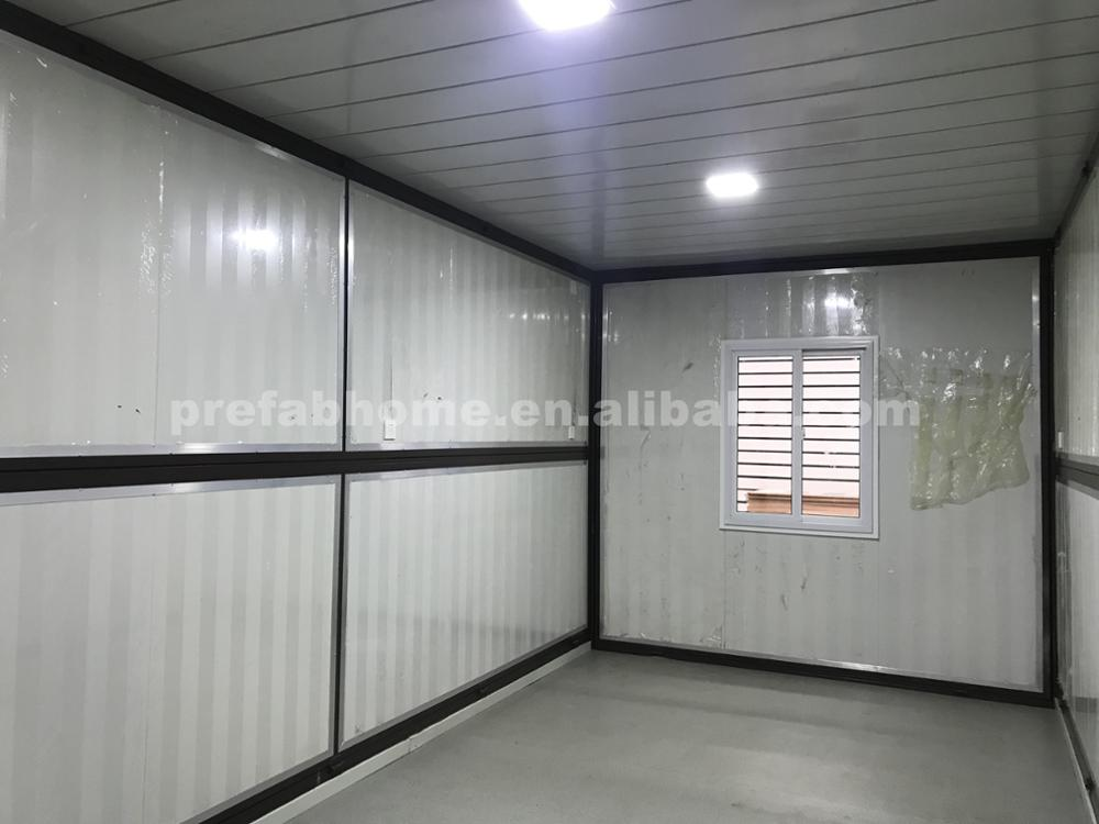 Green steel structure Folding pop up container house for sale