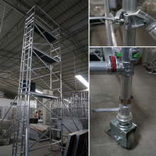 TUV Certificated Aluminum Mobile Used Scaffolding for Sale