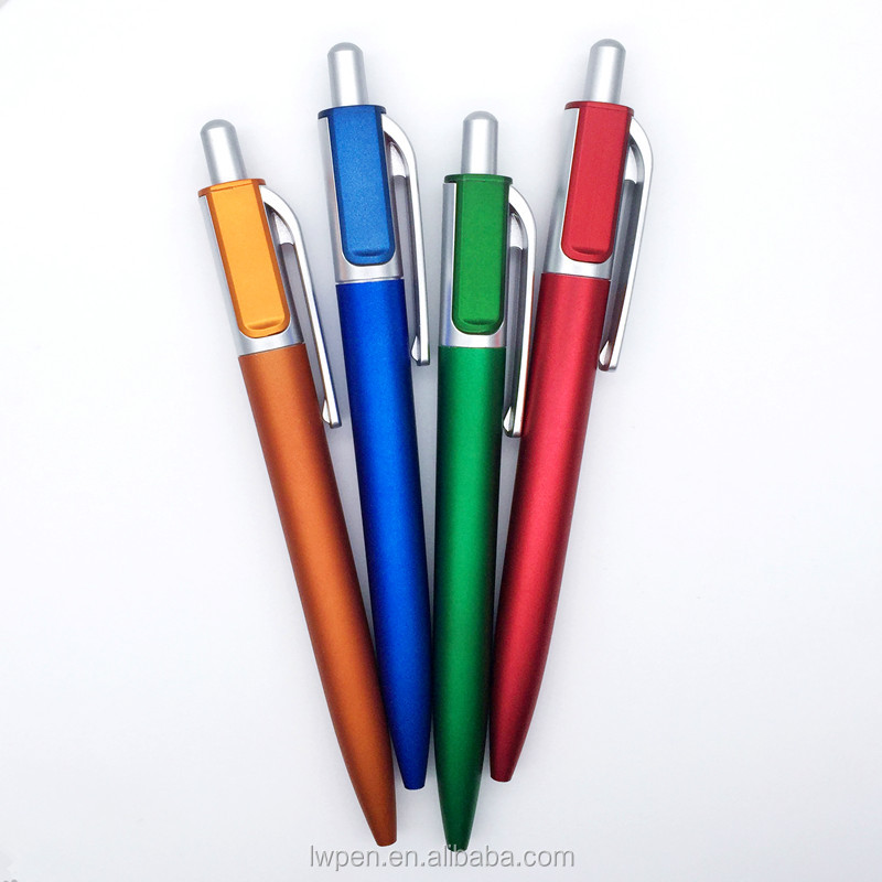 Hot Arab Six Pen High Quality Light Weight Plastic Ball Pen