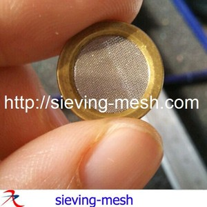 15mm wire mesh disc / 10mm stainless steel filter / 1.3-1.5mm CNC machine copper edge mesh filter disc