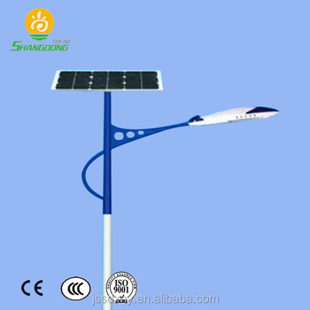 Morden Design Solar Energy Outdoor Led Street Light Pole Complete With Ings System For