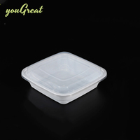 7 compartmentss food container for candy or cookies 5-compartment bento lunch box plastic 5 compartments with soup bowl
