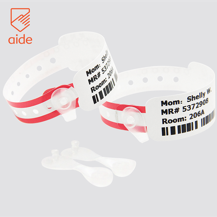 Diposable Printable Super-soft Newborn Baby Infant Hospital Paper Wristbands Id Band