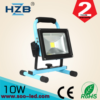 Work Zone Rechargeable Battery Operated Mini Led Worklight 10w ...