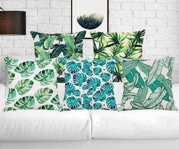 Burlap Decorative Throw Pillows Cover Cases Cushion Wholesale Plain