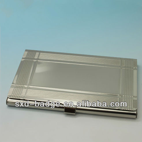 Export Germany Stainless steel Business Card Case in stock