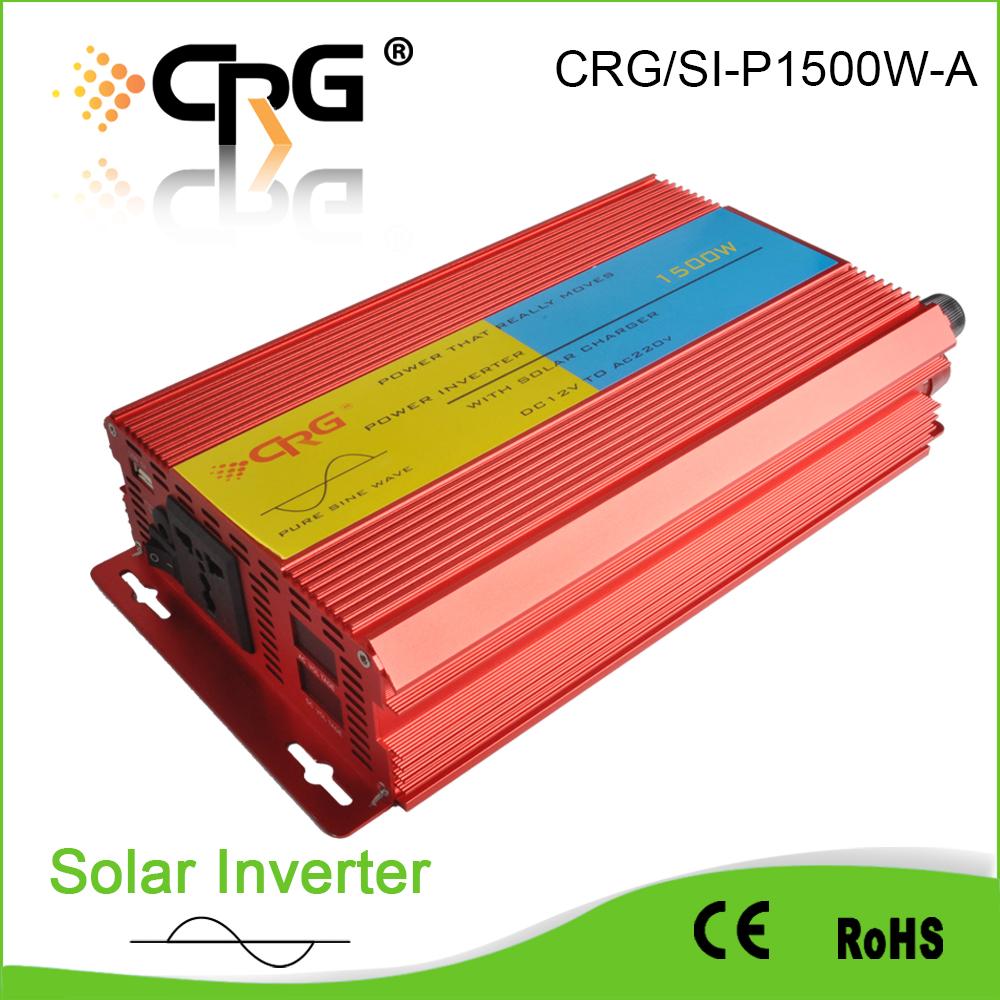 Inverters & Converters Soft Sart Dc 12v 24v 48v To Ac 220v 240v Off Grid 1500w Pure Sine Wave Solar Power Inverter P1500w Home Improvement